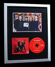 VACCINES+SIGNED+FRAMED+ENGLISH GRAFFITI+LOVER=100% AUTHENTIC+EXPRESS GLOBAL SHIP