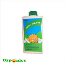 GRO JUICE 1L OZI MAGIC HYDROPONICS NUTRIENTS ORGANIC NUTRIENT