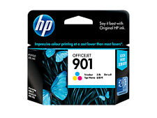 2x HP 901 Tri-color Ink Cartridge CC656AA Dated 2011