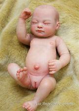 Full Body Silicone Reborn Baby Doll Sleeping Porcelain Newborn Babies Girl Dolls