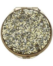 Kate Spade New York Simply Sparkling Compact Gold Glitter *Brand New in Box Nib*