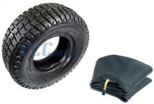 9 x 3.50 - 4 TIRE W/ INNER TUBE GAS SCOOTER TURF SAVER TIRES 9 3.50 4 U TR27