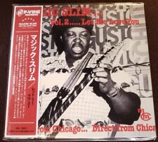 Magic Slim- CD Japanese Import, Vol. 2. ...Let Me Love You, Like New
