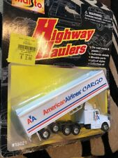 Vtg Highway Haulers American Airlines Cargo Maisto Collectible Semi Truck Toy