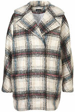 Wool Checked Coats & Jackets Topshop for Women