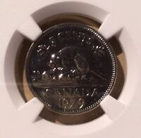 1979 CANADA 5 CENTS NGC SP 68 - Only 5 in Higher Grades - Specimen Strike Nickel