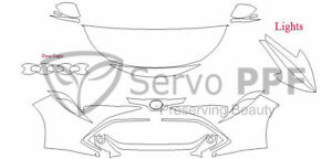 Precut 3M PRO Series Clear Bra Kit for 19+ Toyota Corolla Hatchback SE / XSE