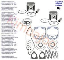 Polaris 600 XC SP RMK Classic Pro-X 77.25 mm STD Bore SPI Pistons & Gasket Set