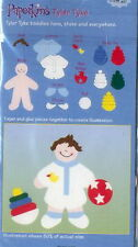 TYLER TYKE Boy as Baby with Toys - EK Success Paperkins Paper Dolls