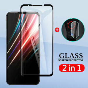 For ZTE nubia Red Magic 5G Camera Lens Film + 9H Tempered Glass Screen Protector