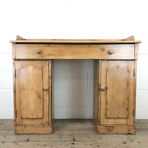 Victorian Pine Twin Pedestal Sideboard (M-2100) - FREE DELIVERY*