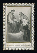santino merlettato-holycard-canivet  S.VINCENZO DE PAOLI bouasse lebel