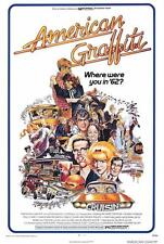 "AMERICAN GRAFFITI Movie Poster [Licensed-NEW-USA] 27x40"" Theater Size Ron Howard"