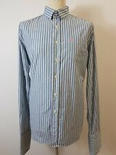 Men's Blue & White Striped Cotton Shirt by Jack Wills Size Extra Large. XL