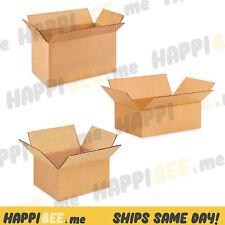 ULINE Shipping Cardboard BOX🍯Paper Packing Mailer Corrugated Carton Sealing Rol