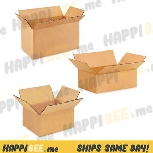 ULINE Shipping Cardboard BOX🍯Paper Packing Mailer Corrugated Carton Sealing Rol