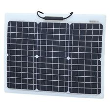 30W Reinforced semi-flexible solar panel with strong ETFE coating (German cells)