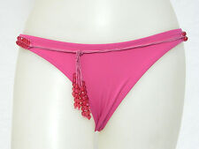 Yamamay Junior Small Size 1 Solid Pink SKIMPY Bikini Swimsuit Bottoms S NWT