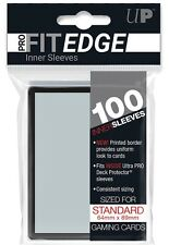 100 Ultra PRO FIT EDGE BLACK BORDER Inner Card Sleeves MTG Magic Pokemon 85270
