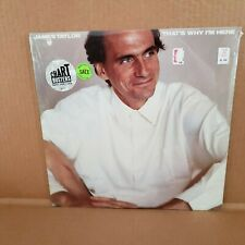 "James Taylor ""That's Why I'm Here""  Sealed  LP*"
