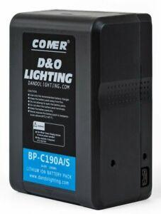 New 190wh 14.8v 12800mAh SONY V-Mount V Lock Li-on Battery Replacement for DSLR