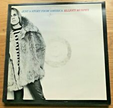 """💿 VINTAGE VINYL Record Collector """"JUST A STORY FROM AMERICA"""" by ELLIOTT MURPHY"""