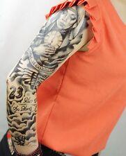 Full Arm Tattoo XXL Fake Tattoo Einmal Tattoo New Design 2016 44,5x15cm QB-3031