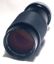 Vivitar Canon FD f/3.8 50mm  f/3.8 75-205mm Macro Focusing Zoom Lens Japan