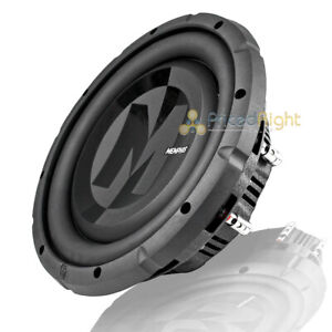 """10"""" DVC Shallow Subwoofer 700W Max 4 Ohm Power Reference Memphis Audio PRXS1044"""