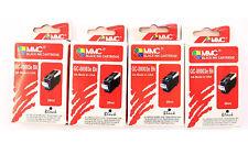 4 x MMC Druckerpatrone schwarz 28 ml »GC-00003e- Bk« für Canon PIXMA IP3000 BJC-