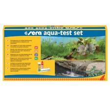 sera aqua-test set , Wassertest, Testset für Teich, Süß- und Meerwasser  - 04000