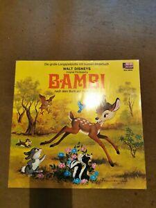 LP  Bambi Disneyland MA 9600  von 1969