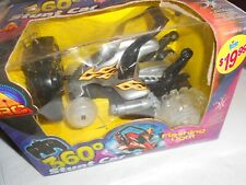 """Excite: Rc 360 Stunt Car, Flashing Light, Battery, 10x6"""", Sealed"""
