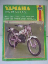 YAMAHA HAYNES MANUAL TY80 TY125 TY175 TY 50 80 125 175 OWNERS WORKSHOP REPAIR