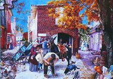 PUZZLE ..BRABEAU..Village Blacksmith....500...Nvr opned