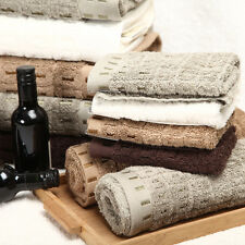 100% Pure Egyptian Cotton Towels-Face Towel/Hand Towel/ Bath Towel-6 Towels set
