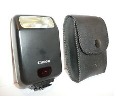 GENUINE CANON SPEEDLITE 160E for CANON EOS FILM SLRs, CASED, CLEAN, NOT DIGITAL