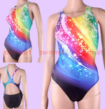 NWT YINGFA 930 COMPETITION TRAINING RACING SWIMSUIT XL US MISS 8 SIZE 32 CLASSIC