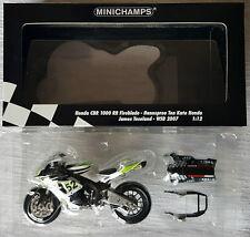 MINICHAMPS DUCATI DESMOSEDICI GP7 LORIS CAPIROSSI MotoGP 2007 1:12 VERY RARE!!