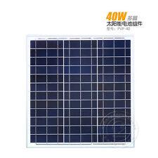 40 Watt 40W 12V 12 Volt Solar Panel Battery Charger RV Boat Camping Off Grid