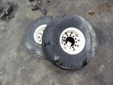 Allis-Chalmers 6140 tractor 9-10L tires & rims 6 bolt Tag #828