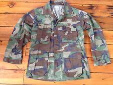 "Vintage USMC Marines Military Woodland Camo Mens Jacket Shirt 46"" Med-Long"