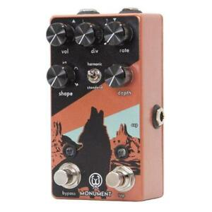 Used Walrus Audio Monument V2 Harmonic Tap Tremolo Guitar Effects Pedal