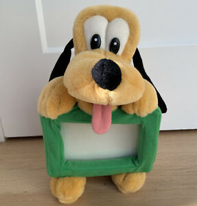 Disney Pluto Soft Plush 4x6 Photo Picture Frame