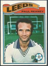 TOPPS 1978 FOOTBALLERS #104-LEEDS UNITED-PAUL REANEY