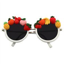 SUNGLASSES Womens Super Cute Novelty Tutti Fruity Donut Fun Womens Sunglasses