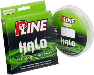 P-Line HF200-15 Halo Fluorocarbon Fishing Line 15lb 200yd Mist Green