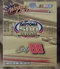 Winners Circle Daytona 500 Dale Earnhardt Jr. Limited Edition Two Car Set!