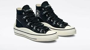 Converse x Kim Jones M Size 9 - W 11 Chuck 70 Utility Wave HI 171257C Black NEW