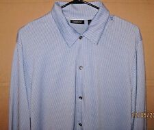 DKNY Size L Long Sleeve Button Up Casual Shirt
